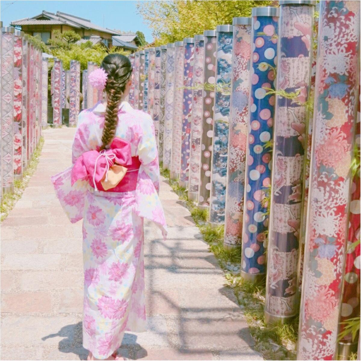 京都で行きたい!写真映えもバッチリ♡ フォトジェニックな《 キモノ・フォレスト 》つて知ってる?_4