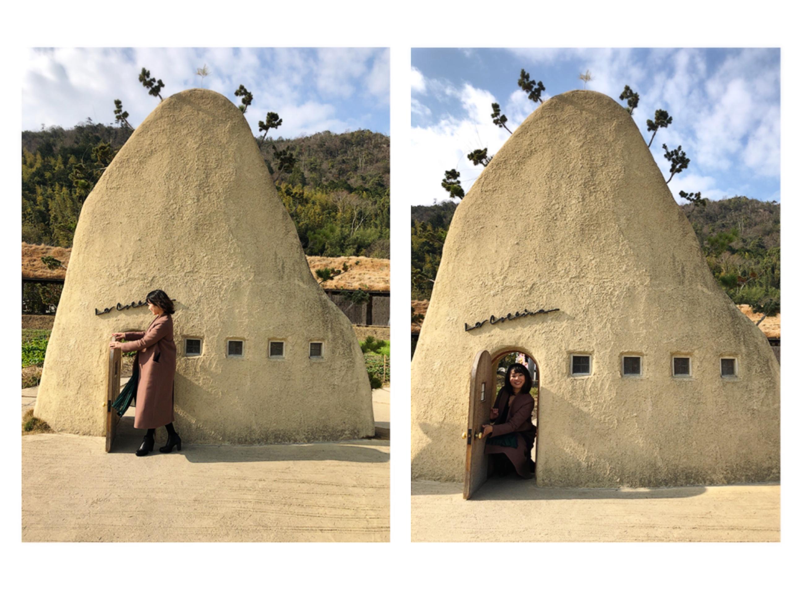 【#滋賀】《NEW YEAR ver.》CLUB HARIE♡ジブリ作品のような外観&壁画アートが魅力のラコリーナに行ってきました!_2
