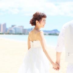 【プレ花嫁さん必見】ハワイでウェディングフォト撮影-ビーチ撮影・ハンドメイドの小物たち-