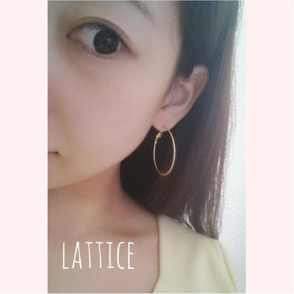 【アクセもプチプラ!!】lattice(ラティス)で最旬アクセをgetしましょ^^*_2