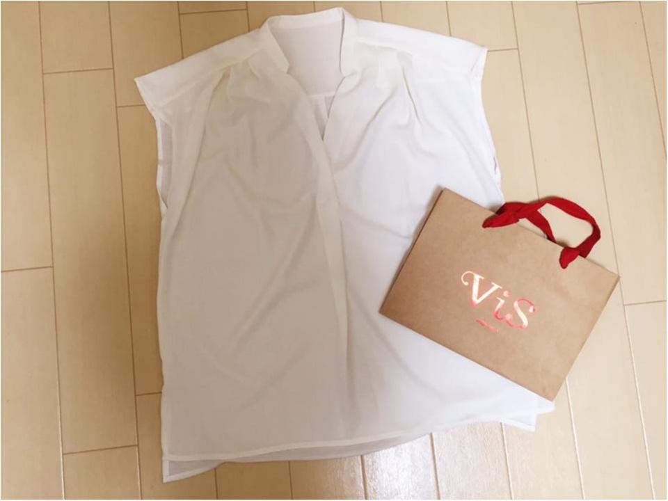 ViSのプレスルームで秋冬ファッションについておしゃべり/売れ筋ブラウス #モアハピ_4