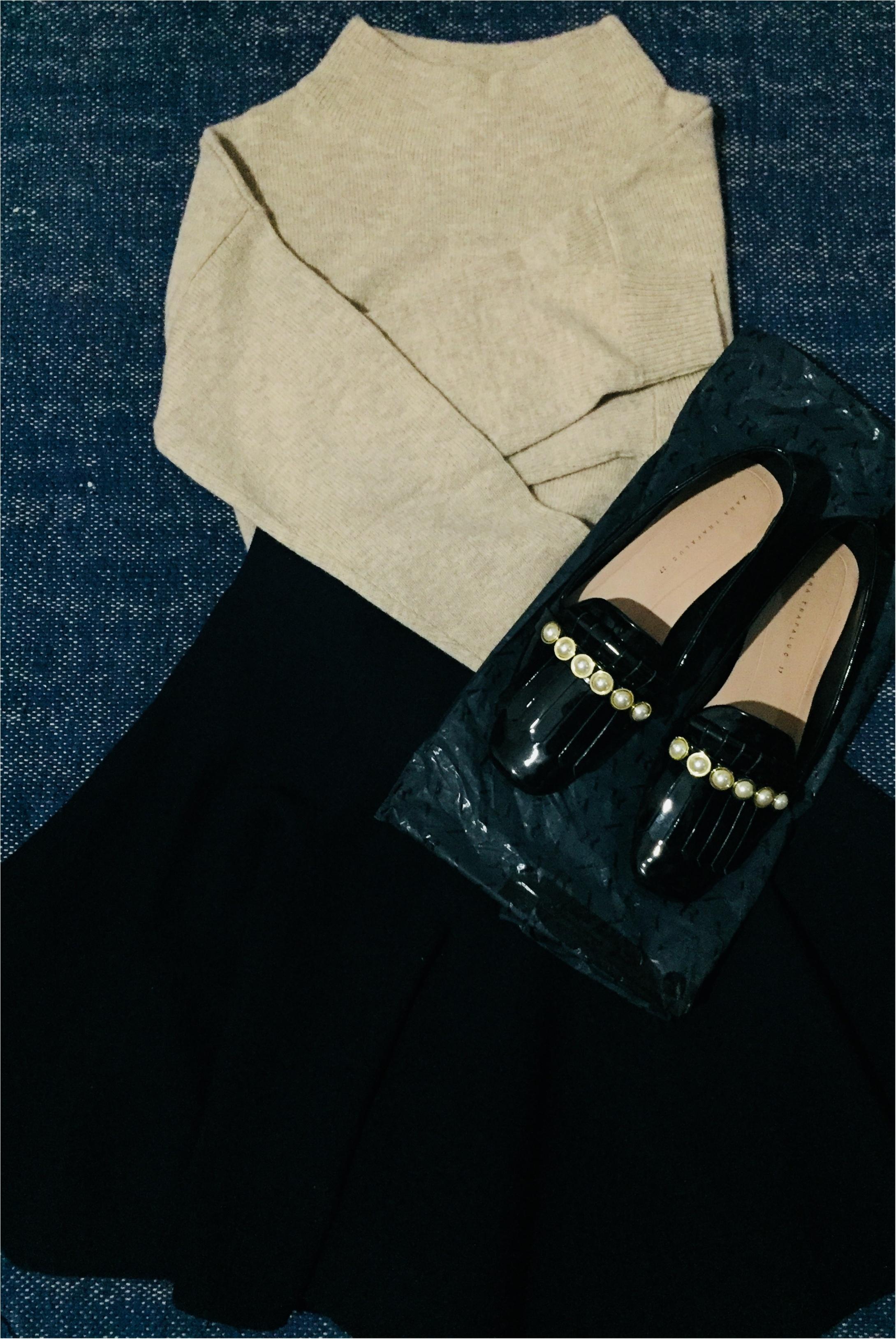 【UNIQLO de お買い物❤︎】寒い冬の気分を上げる!形がキレイ&明るい色のニットを買い足しました✌︎_4