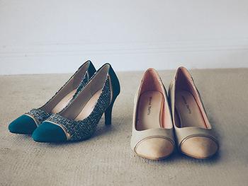 オンもオフも、自信をくれるのは『オリエンタルトラフィック』の靴