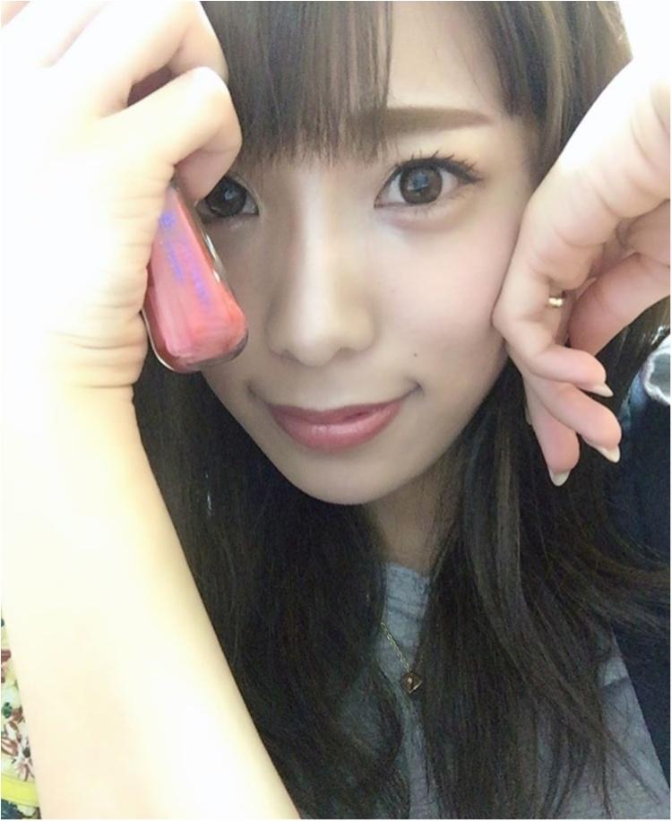 今更ながら、、、念願のフローフシLIP38℃スワールGET♡発色そのままでびっくり!_3