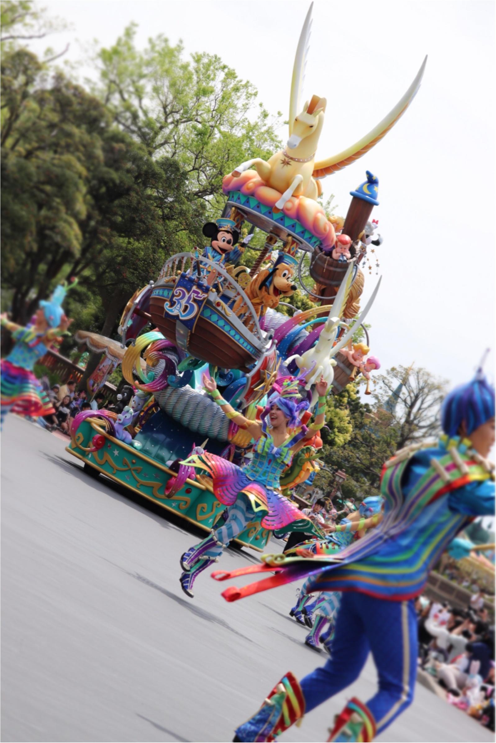 ▷【東京ディズニーランド35周年】Newパレード「ドリーミング・アップ!」がとにかく凄い!!_3