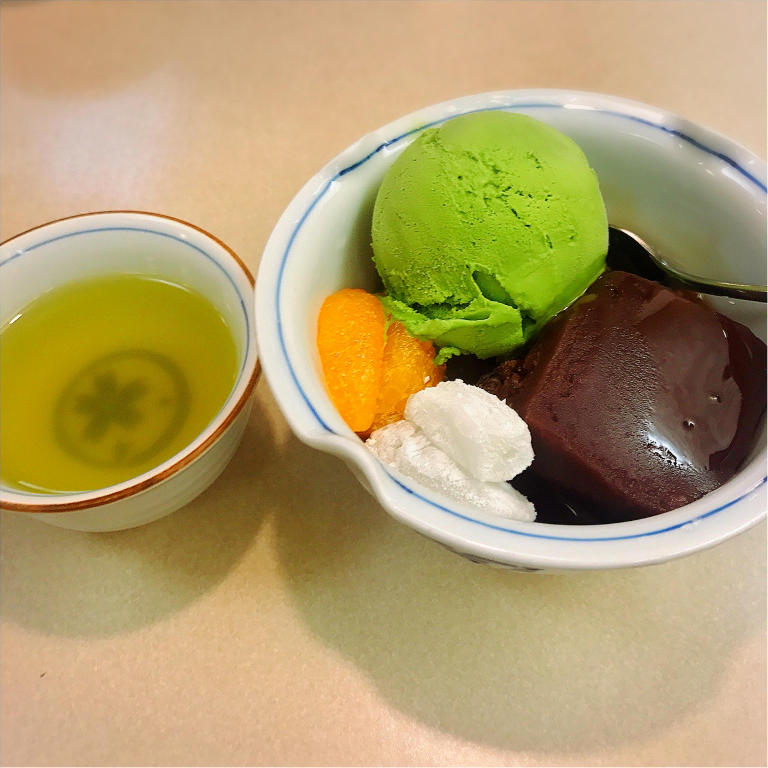 シンプルイズベスト!「みはし」の抹茶あんみつが最高♡_2