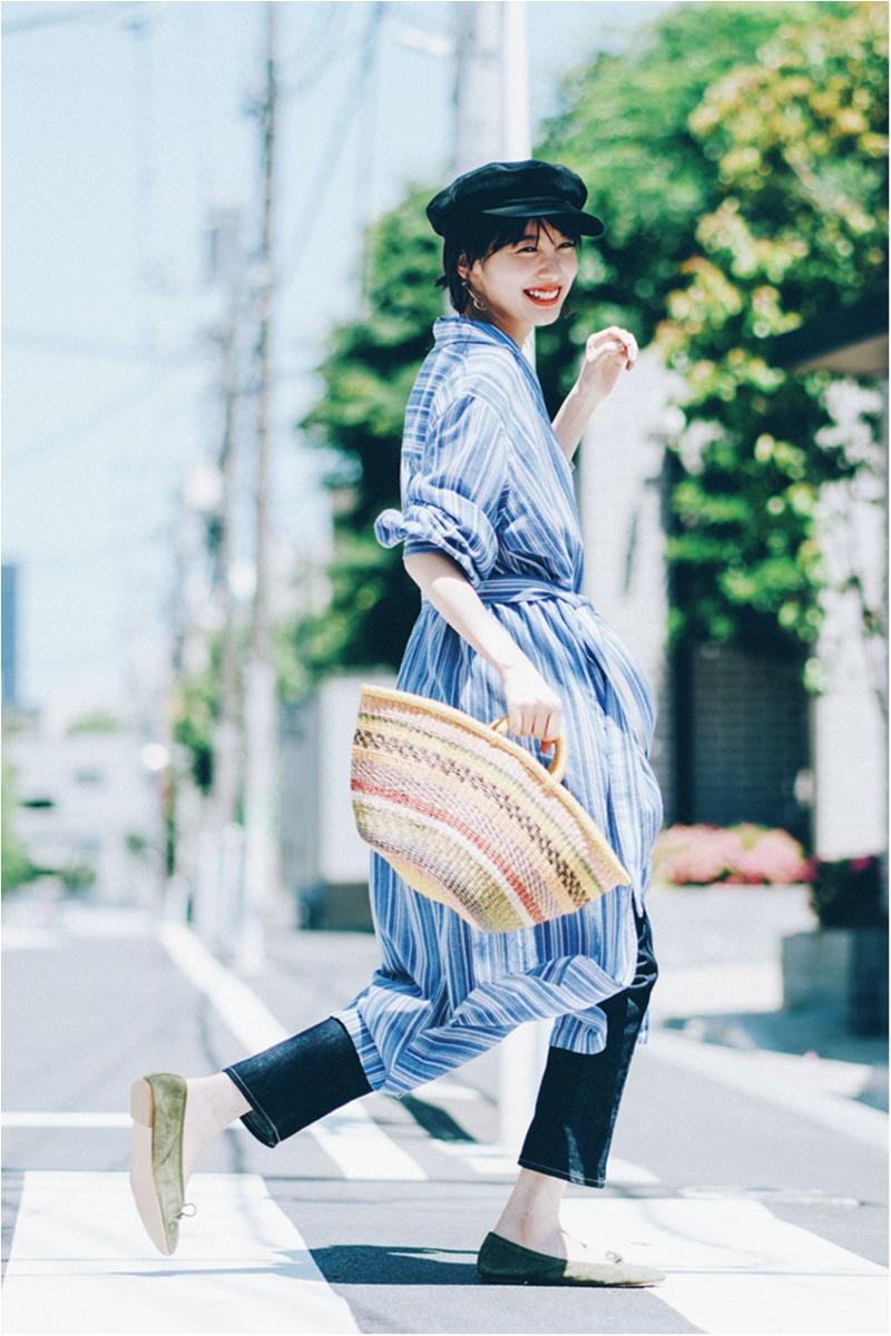 日焼け防止のマストアイテム 【帽子】の今どきコーデ15選   ファッションコーデ_1_14