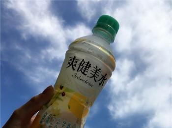 後味すっきり!夏の味!【爽健美水】