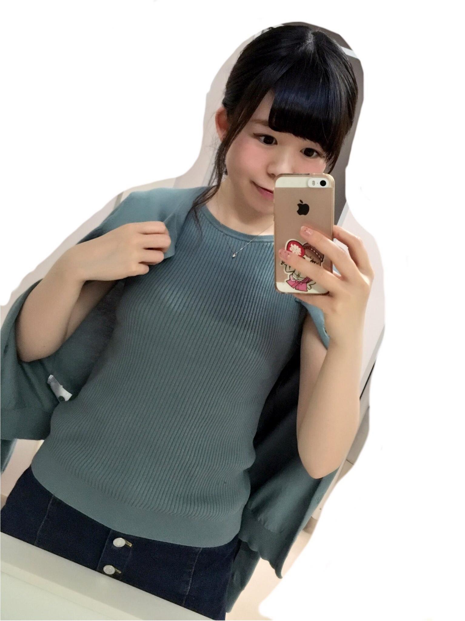 かわいいと評判♡【UNIQLO】のアンサンブルを着てみました!_2