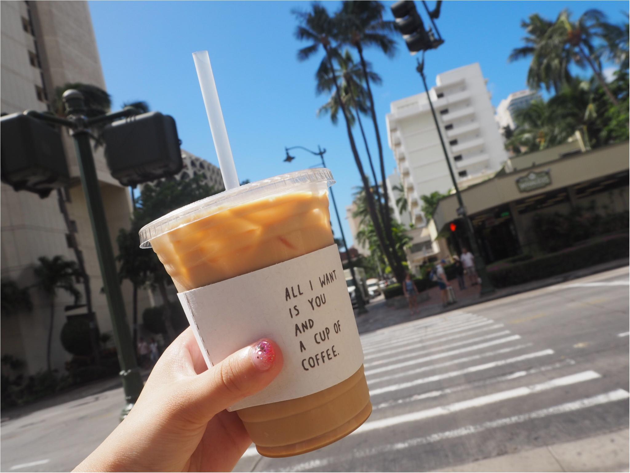 ハワイ/ホノルルをおさんぽ♪カップがかわいいと話題のコーヒースタンド♡_11