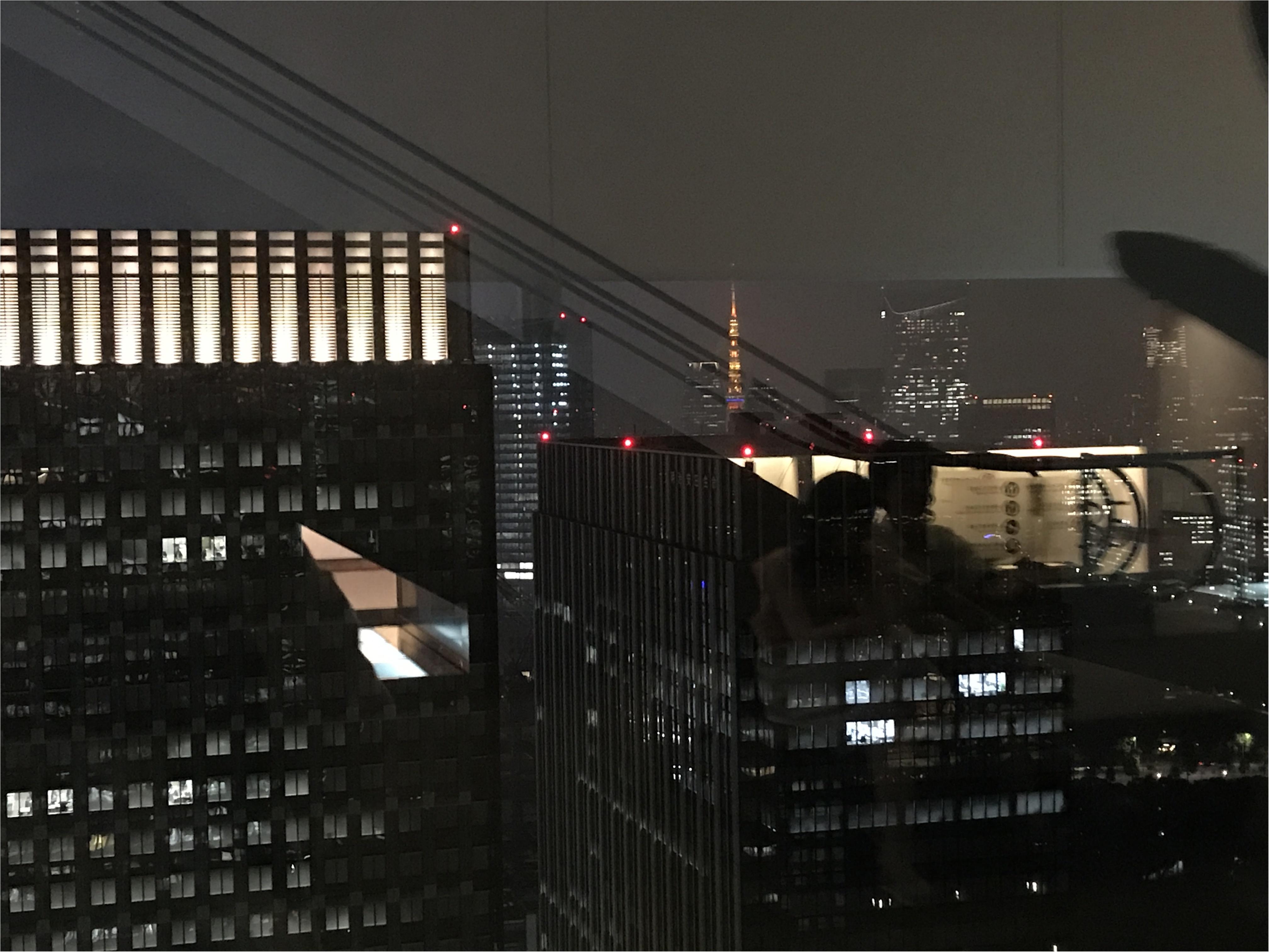 【AUXAMIS TOKYO】東京駅丸ビル35階絶景のフレンチレストランで誕生日ディナー♡_3