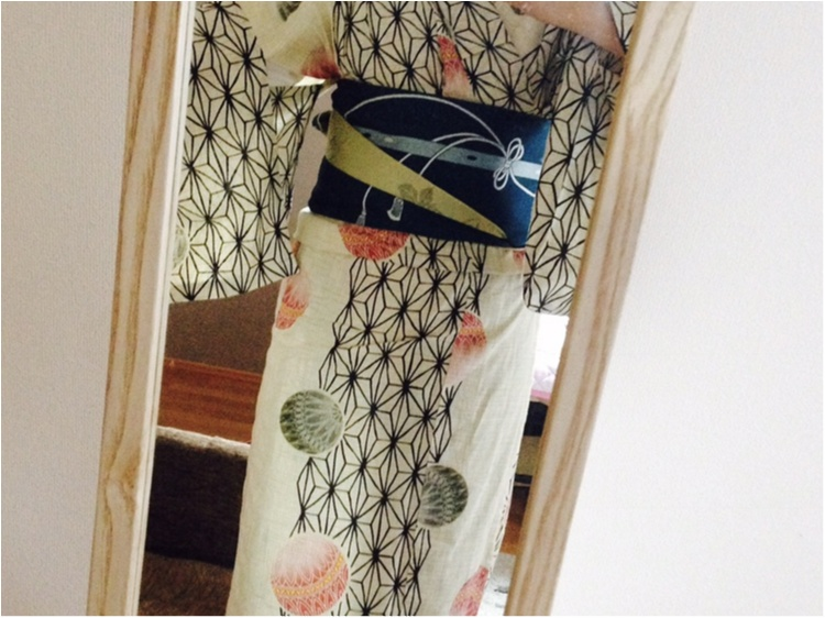 【浴衣】帯は前も後ろも可愛くなくっちゃ!簡単にできてかわいい浴衣コーデをご紹介♡_4