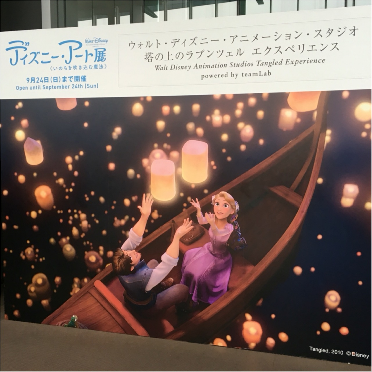 <9/24まで>映画の感動のワンシーンが目の前に広がる!ディズニー・アート展でラプンツェル体験をしよう!♡_2