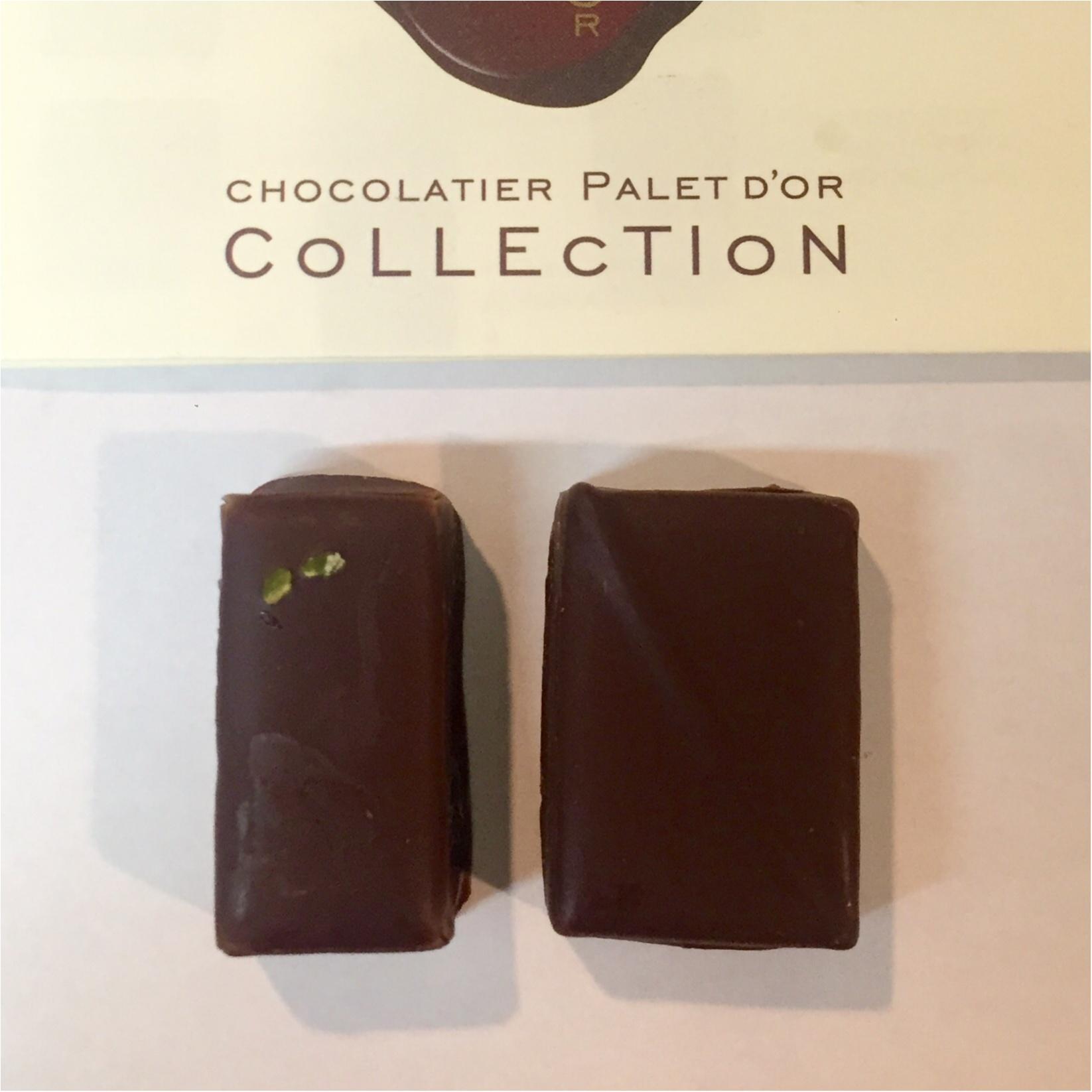 ショコラティエ パレ ド オール (CHOCOLATIER PALET D'OR)の繊細なチョコレート♡_2