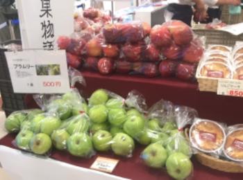 東京駅で長野県復興支援イベント開催。「ながの果物語り新幹線マルシェ」で、おいしいりんごを購入しよう!