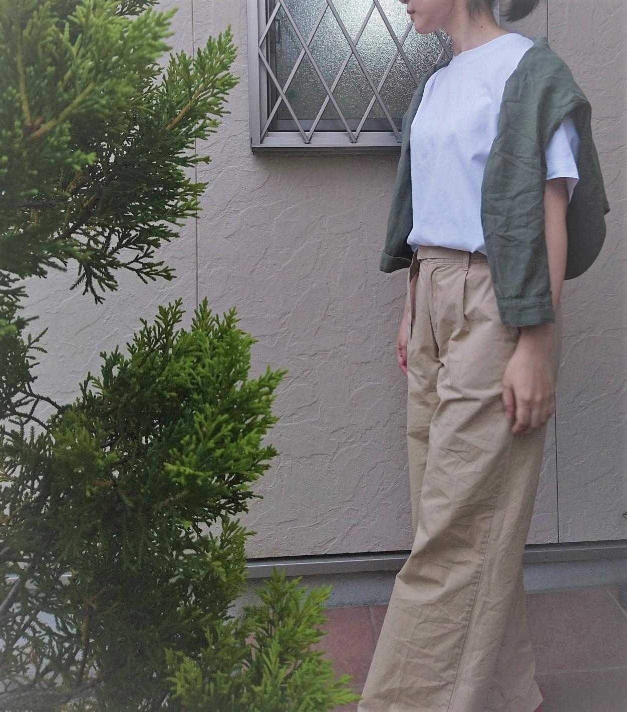 白Tシャツはコスパ抜群の UNIQLO(ユニクロ)☆_2