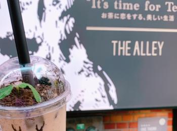 《写真映え❤️》【THE ALLEY(ジアレイ)】の盆栽タピオカミルクティーがおいしい☻