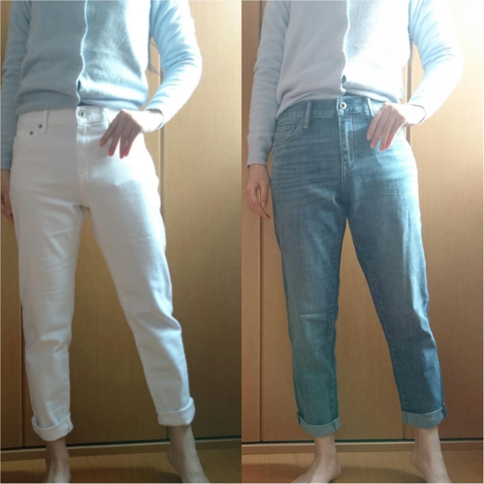 ユニクロ初トク新年祭☆ 春に向けてジーンズを買い足し_3