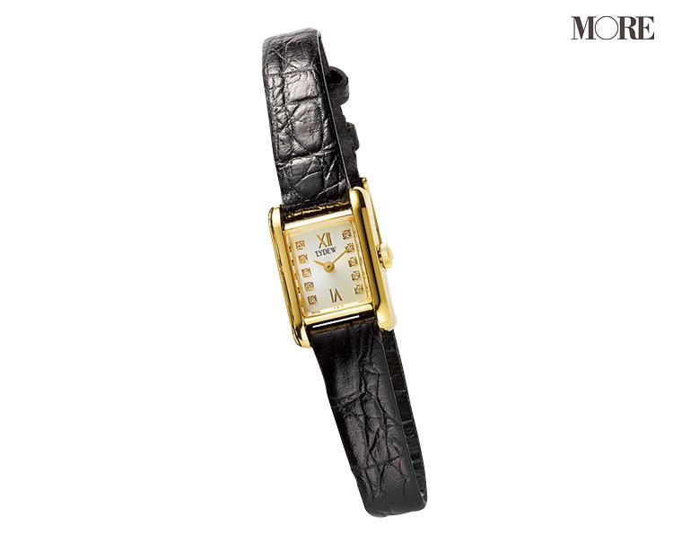 革ベルトの腕時計なら、アクセに似合う、引き立て合う! 「先輩見え」ウォッチで気持ちを上げて_3
