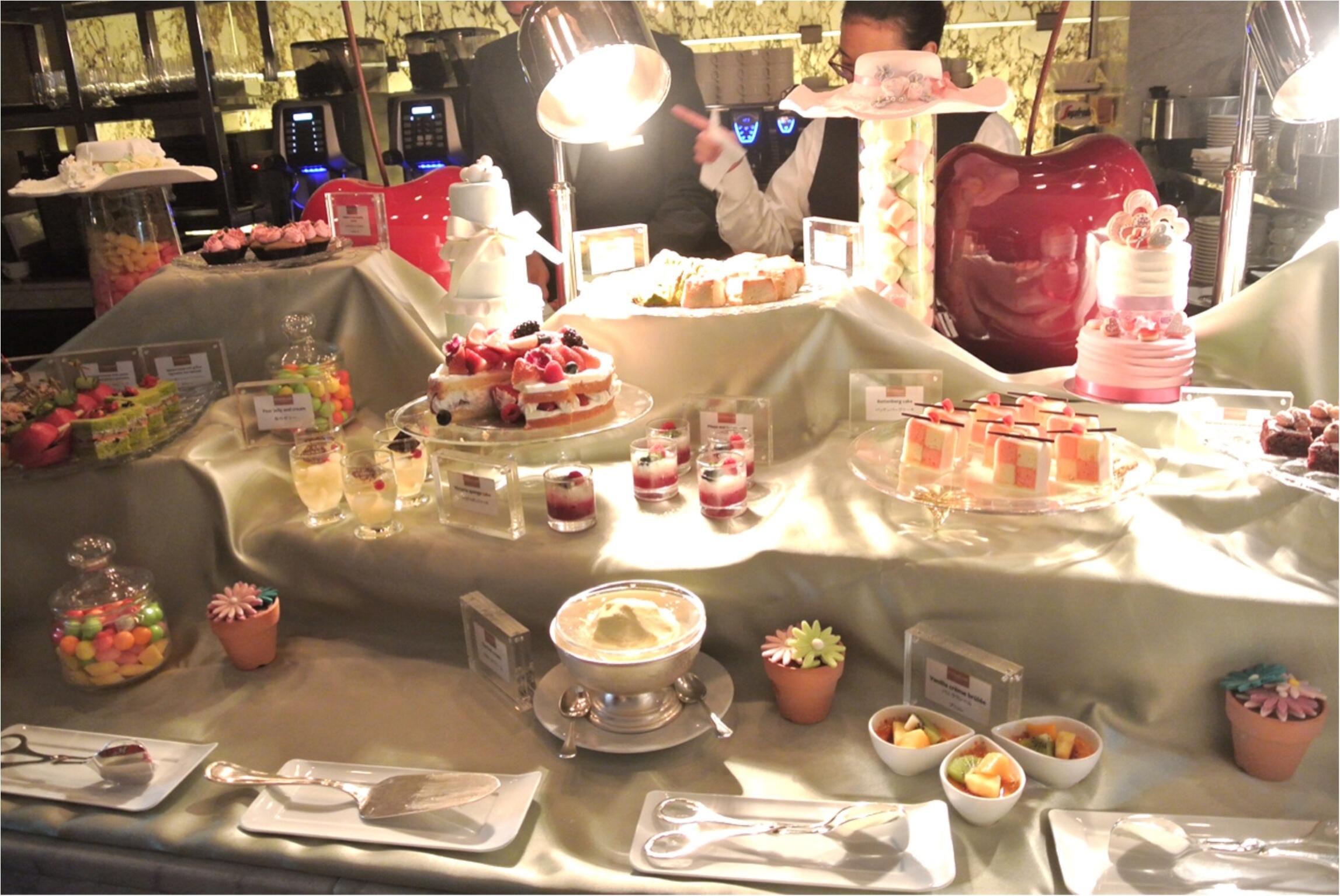 《週末限定!》コンラッド東京のスイーツブッフェ・アフタヌーンティーでロマンティックなひとときを♡_5