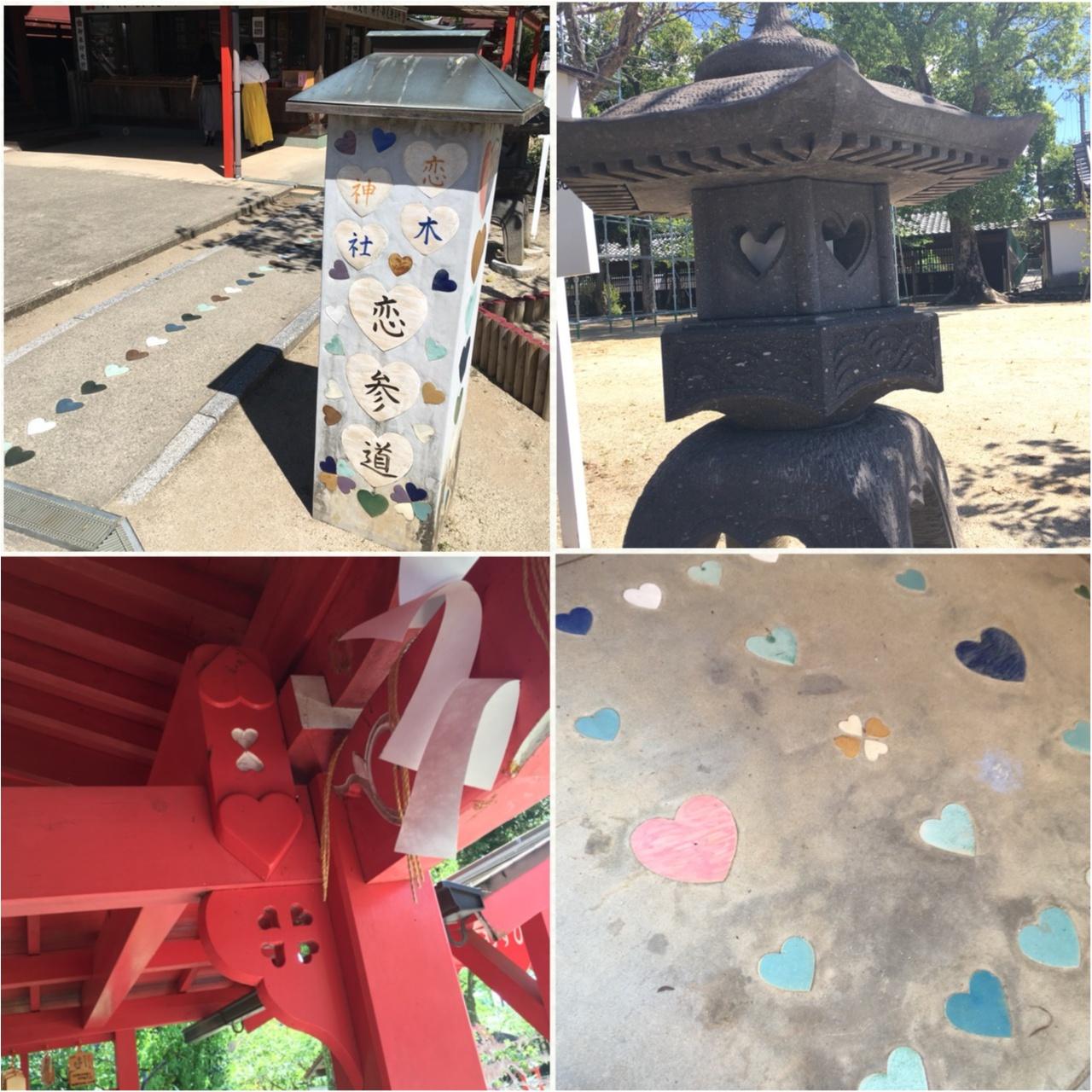 """福岡のラブパワースポットといえばココ!ハートいっぱいの""""恋木神社""""にいってきました♡_2"""