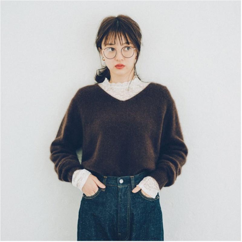 2018年秋のファッション ニット6