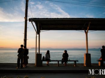 「下灘駅」の絶景に惚れ惚れ。愛媛県松山市女子のリアル【ニッポン全国ご当地OLのリアルな生態リサーチ】