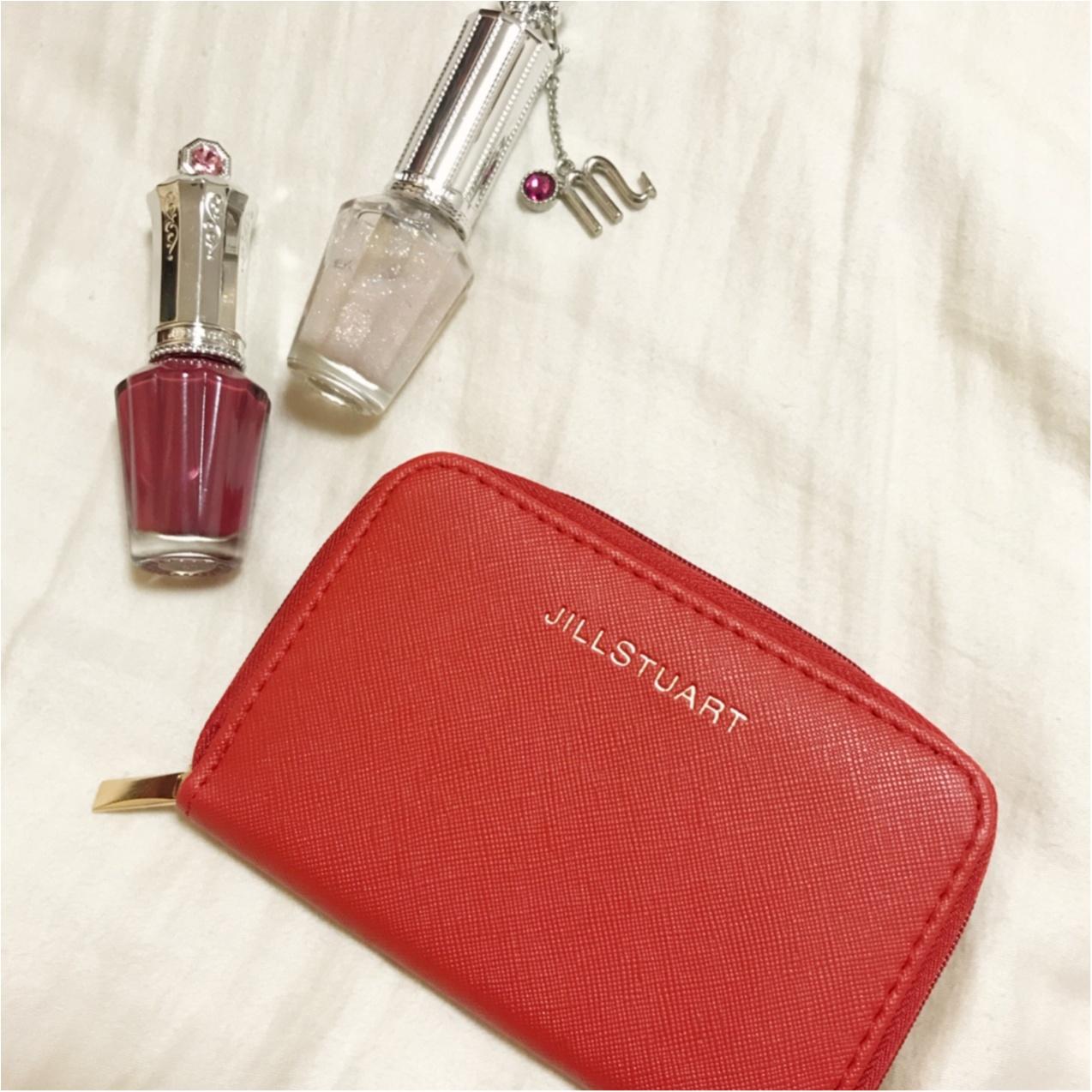 MORE12月号付録【JILLSTUART レザー調レディなミニ財布】が可愛い&使えるっ♡_1