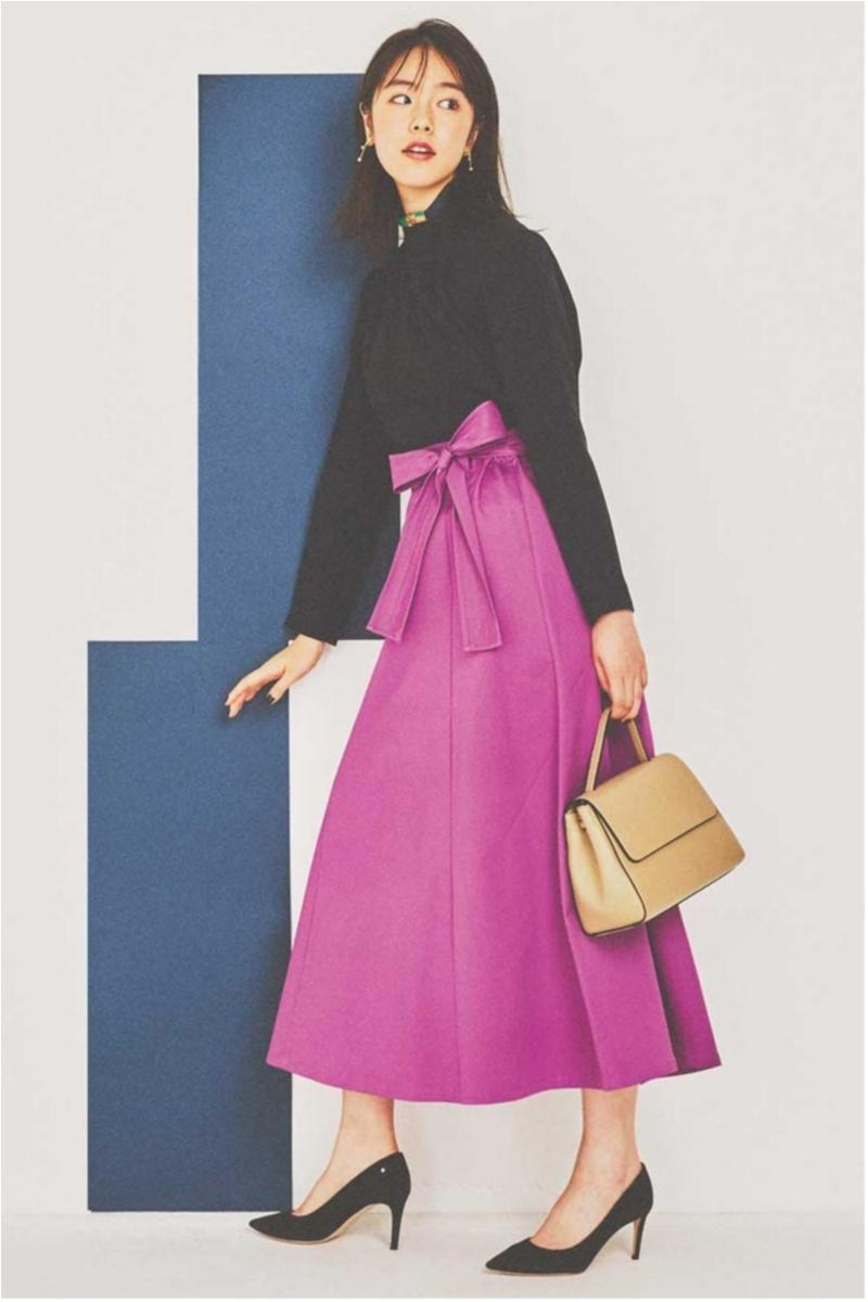 暗い色を着がちな秋にこそ映える【きれい色】コーデ見本帳 | ファッション(2018年編)_1_7