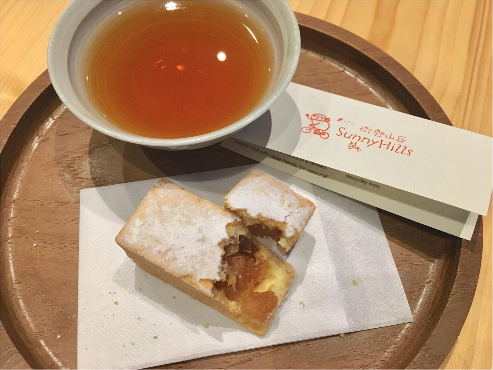 【微熱山丘-サニーヒルズ-】台湾の人気パイナップルケーキを表参道で。_3