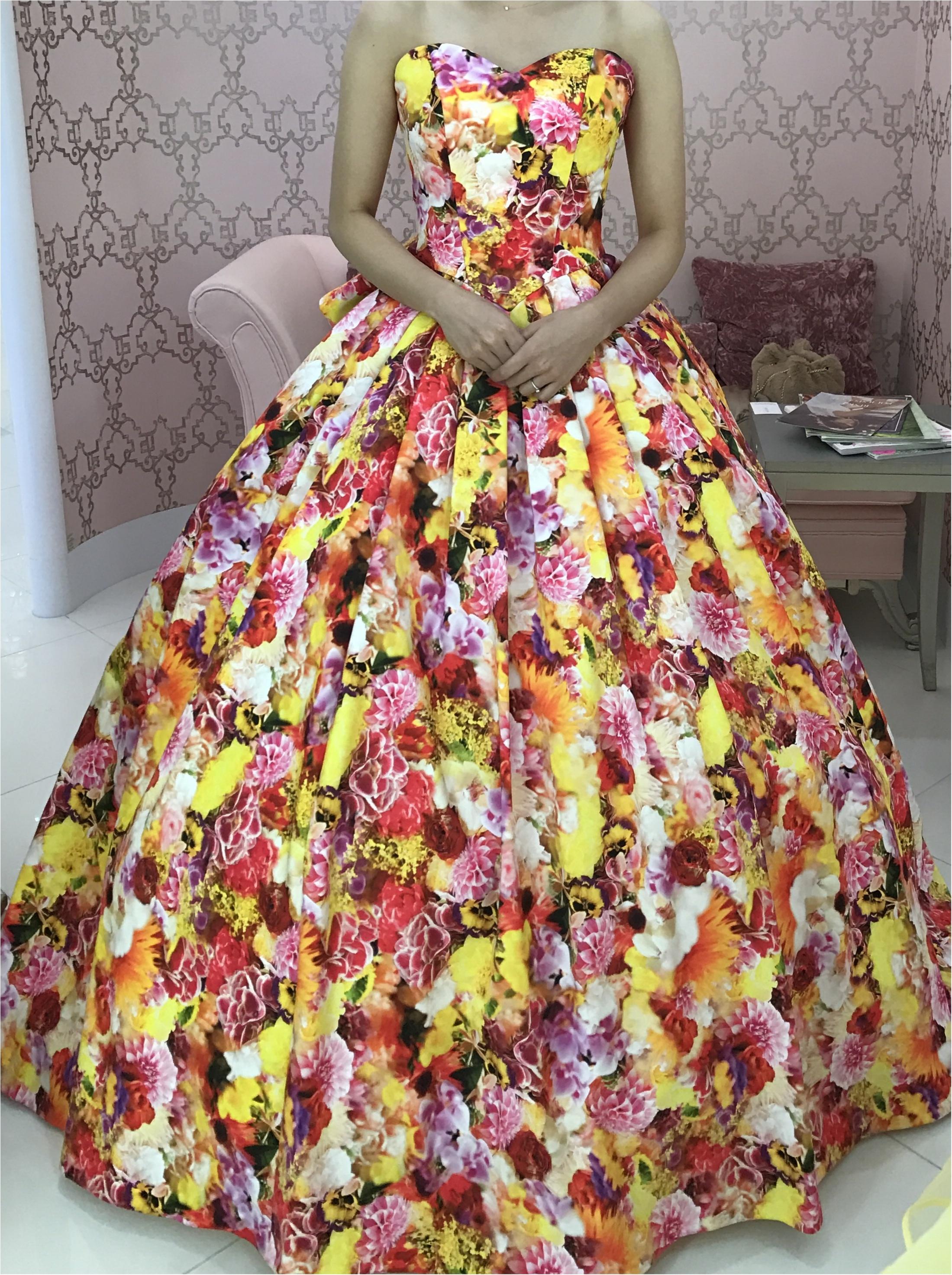 春の挙式にぴったりな春色カラーのドレス♡モアはぴ世代にも甘すぎないのがポイント♡_3