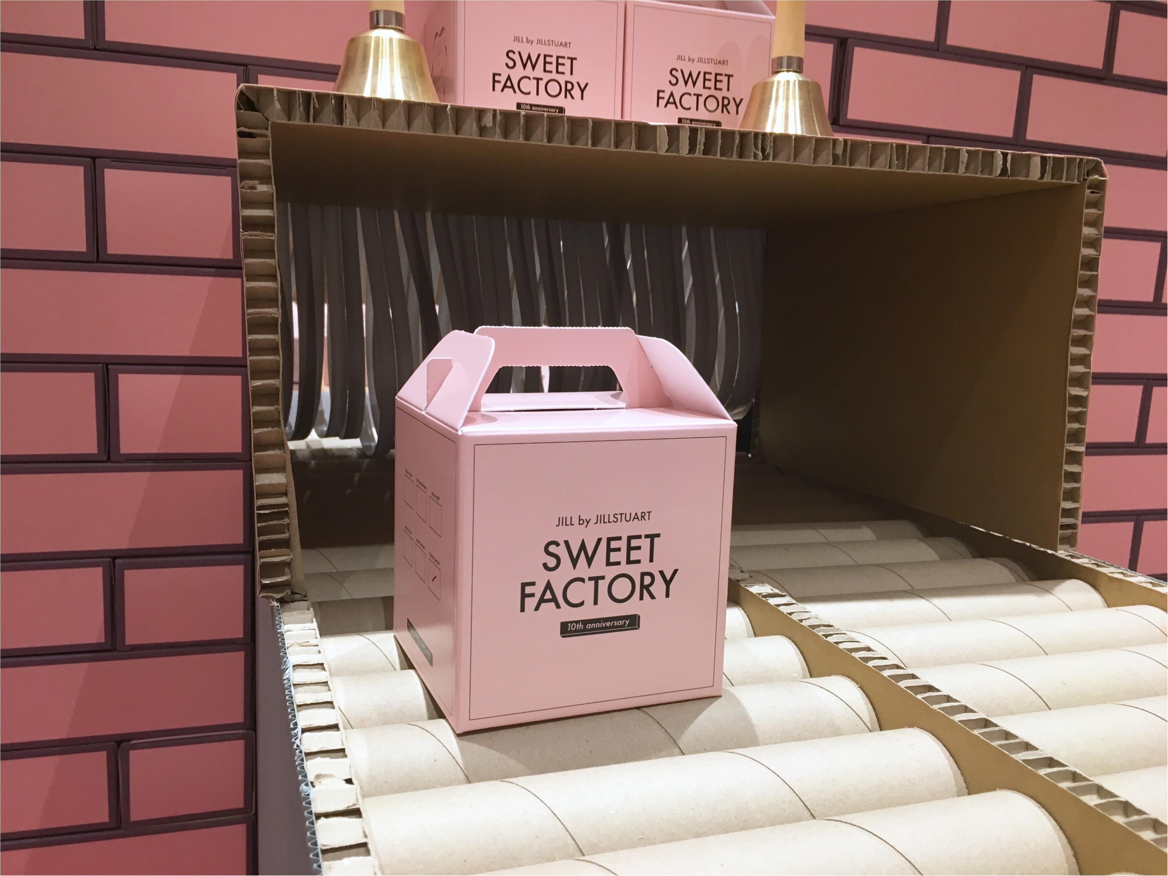 【JILLbyJILLSTUART(ジルバイ)】10thイベント『SWEET FACTORY』わたしにぴったりなカップケーキって?_1