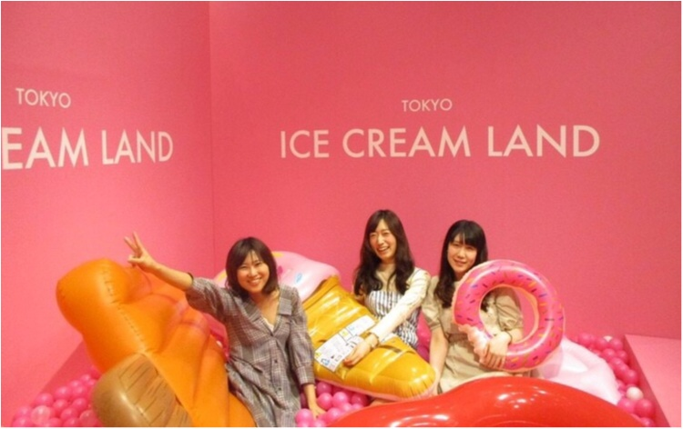 アイスクリームの夢の国「ICE CREAM LAND」でフォトジェニック空間を満喫♡横浜コレットマーレ5/27まで!_1