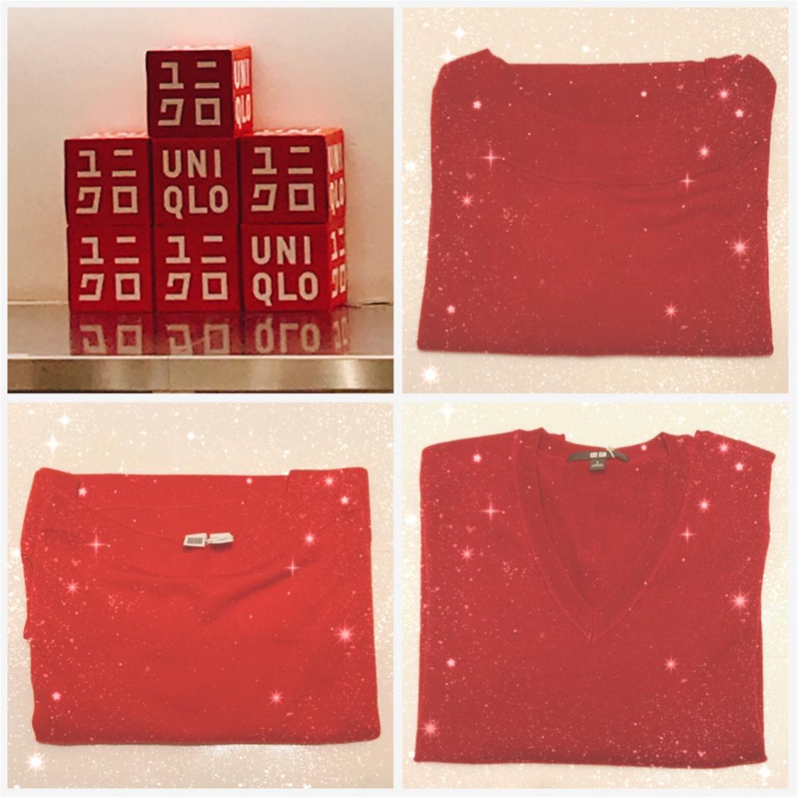 この秋、一番欲しいのは赤ニット♡ユニクロニットを徹底比較!Uniqlo Uの新作もご紹介♪_1