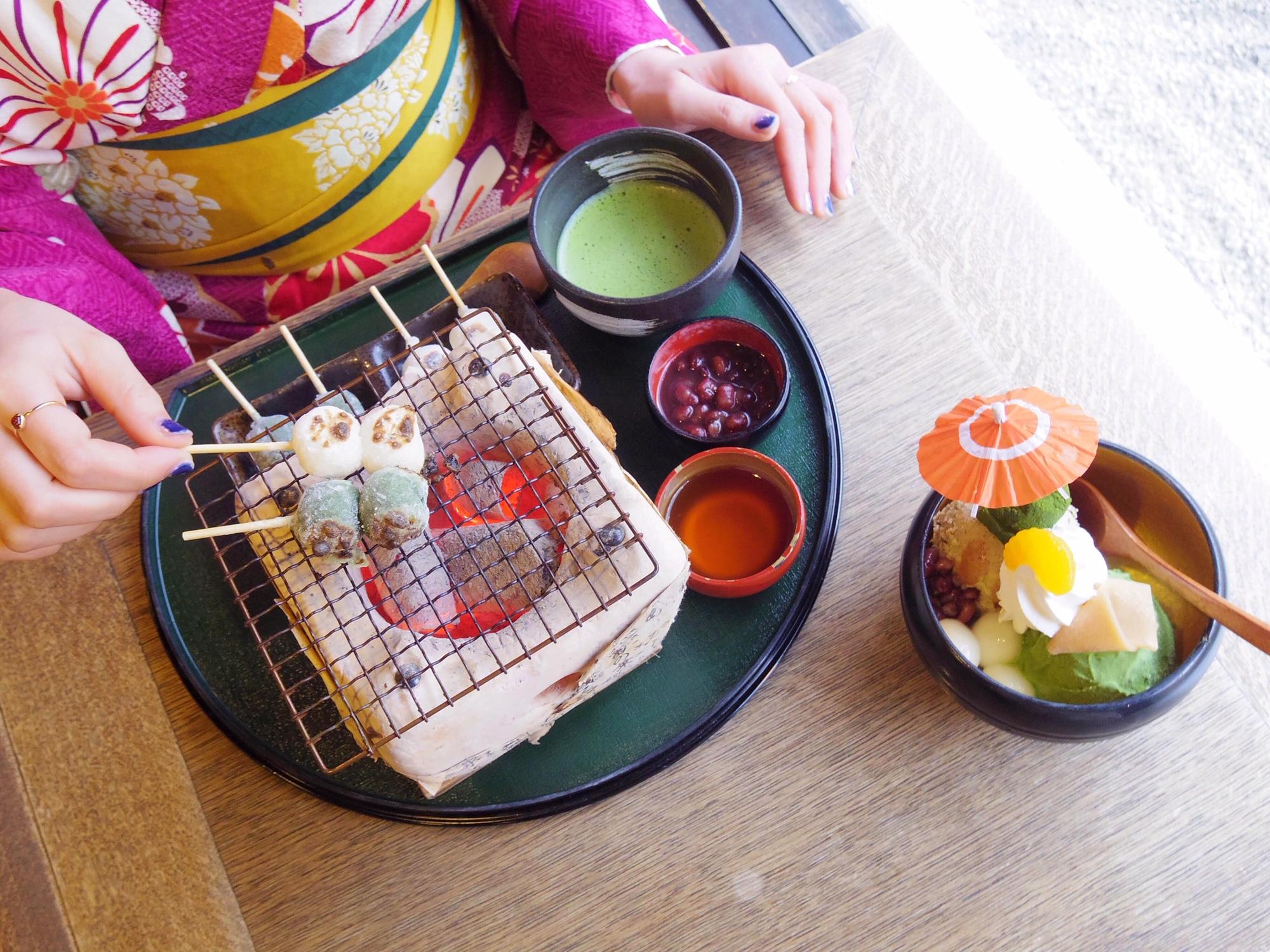 【京都女子旅】イクスカフェ 京都嵐山本店はフォトジェニックなスイーツだらけ♡_5