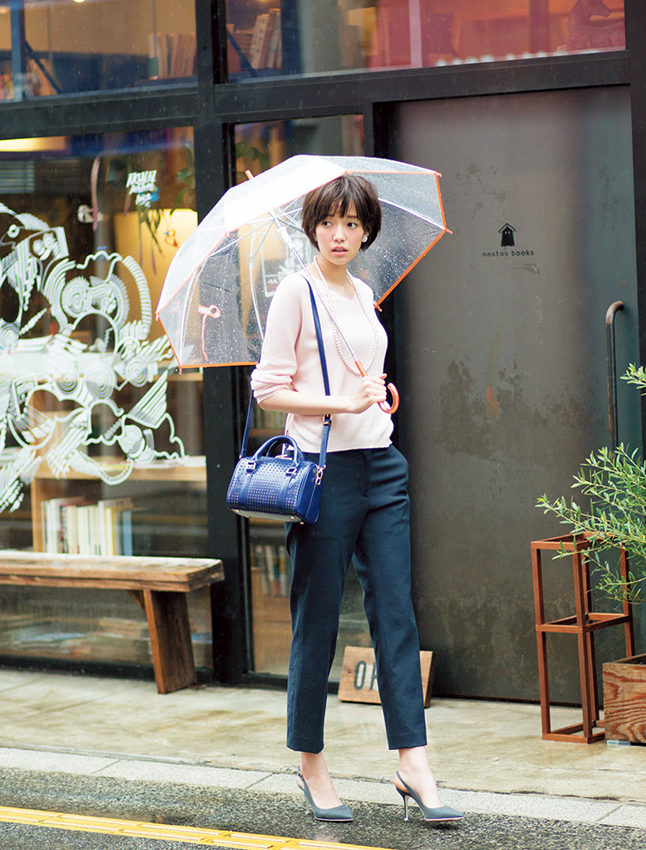 【今日のコーデ】雨の日こそスタイリッシュに仕上げて大人の余裕を♡_1