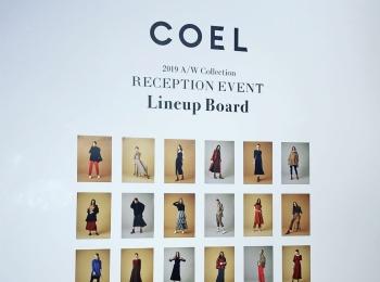 【COEL】モデル・ヨンアさんがディレクターを務めるレセプションイベントに行ってきました✩*॰¨̮