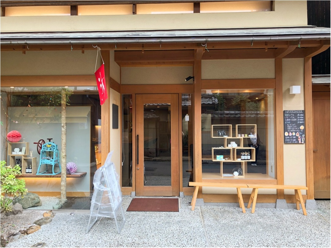 宮島のおすすめスイーツ♡ 濃厚な抹茶と季節のいちごパフェ ♡♡_1