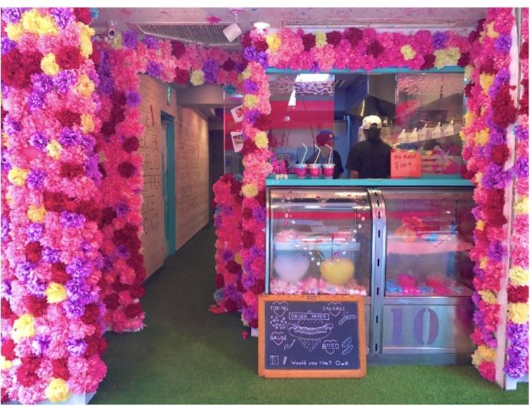 【FOOD】沖縄で人気のカフェが池袋に♡!これから流行る!\LA❤︎Hotdogs Factory/_1
