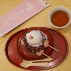 花より団子!≪恵比寿にある白熊で有名な「JAPANESE ICE OUCA」の今の時期だけ食べられるお団子≫