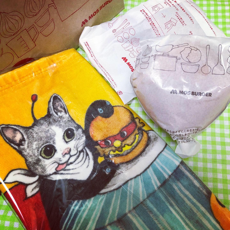 ギュスターヴくんがかわいすぎる♡「ヒグチユウコ オリジナルタオル」がもらえる!スペシャルセットがモスバーガーで限定販売中!♡_4