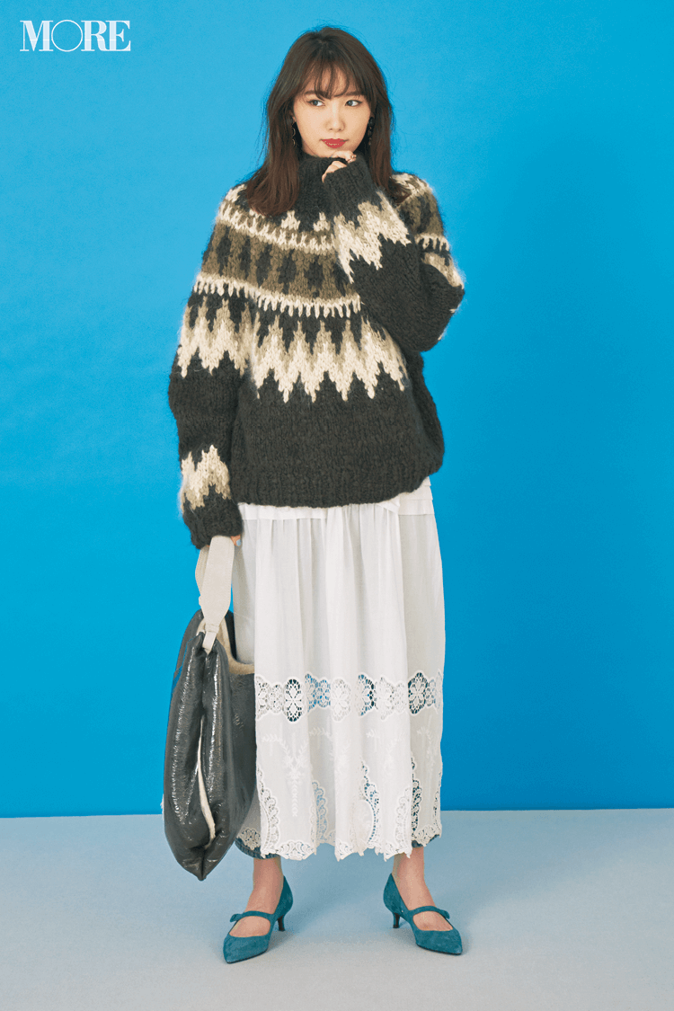2018年秋のファッション ニット28