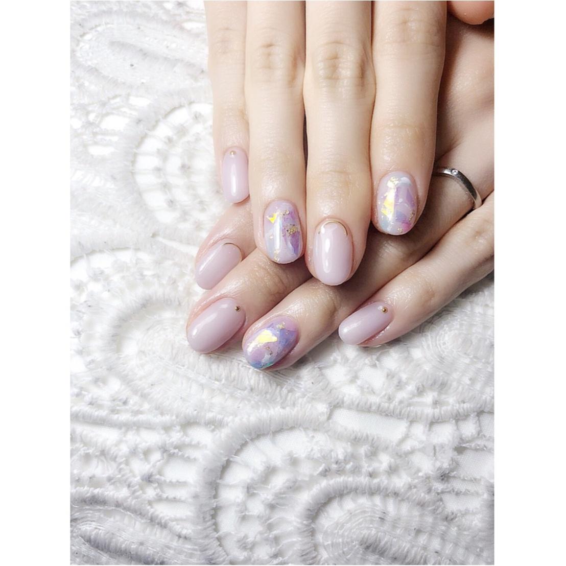 【New♡Nail】梅雨の紫陽花カラー_1