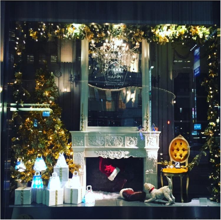 【銀ぶら】ティファニーブルーに惚れぼれ♡銀座のショーウィンドウでクリスマス気分を満喫♡♡_1