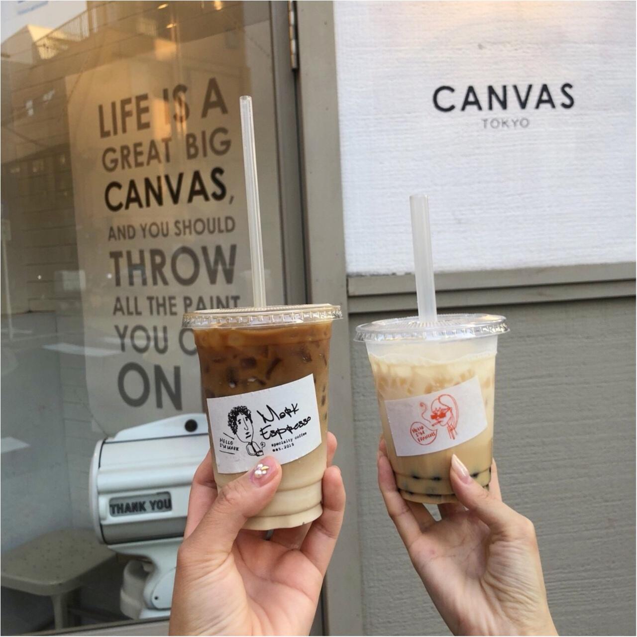 【CANVAS  TOKYO】広尾のおしゃれカフェ♡_4