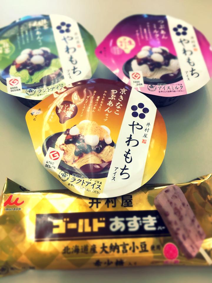 もっちもちがここにもあった!お餅入りのアイスはやっぱり美味しい。井村屋のアイスを食べ比べ★_2
