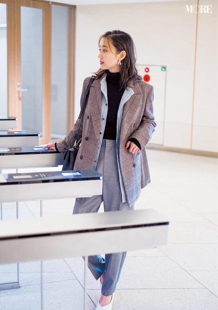 【2020】冬のオフィスカジュアル特集 - ユニクロなど20代女性におすすめの人気ブランドの最新コーデまとめ_7