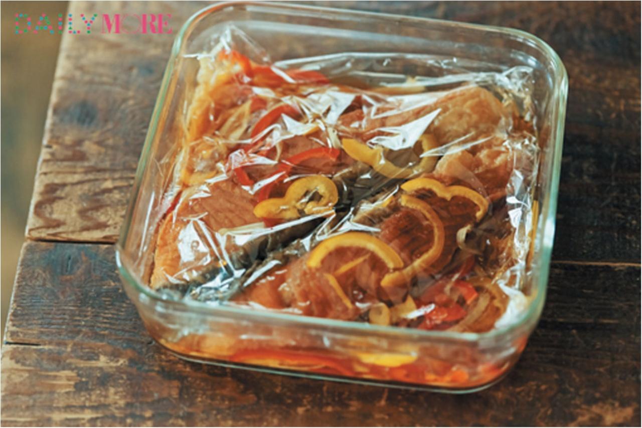 彼が喜ぶ!「鮭の南蛮漬け」&「切干し大根入り納豆」レシピを伝授! 田中美保さんの『しあわせ♡カレごはん』_4