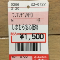 【しまむらで1500円!】春のブラウス購入!袖に注目!!