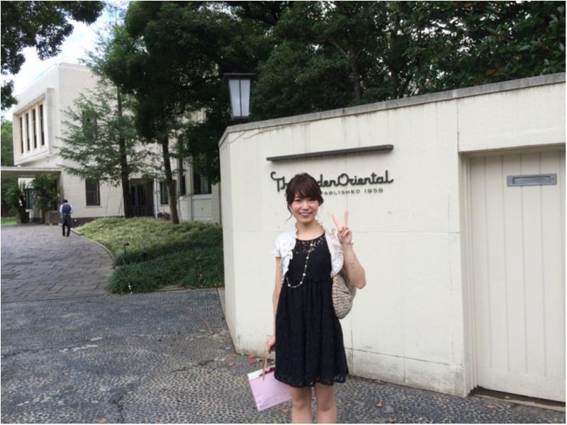 【結婚2周年】記念日ディナー♡お洒落迎賓館レストラン《ザガーデンオリエンタル大阪》選べる美味しいコースでお祝い♡_3